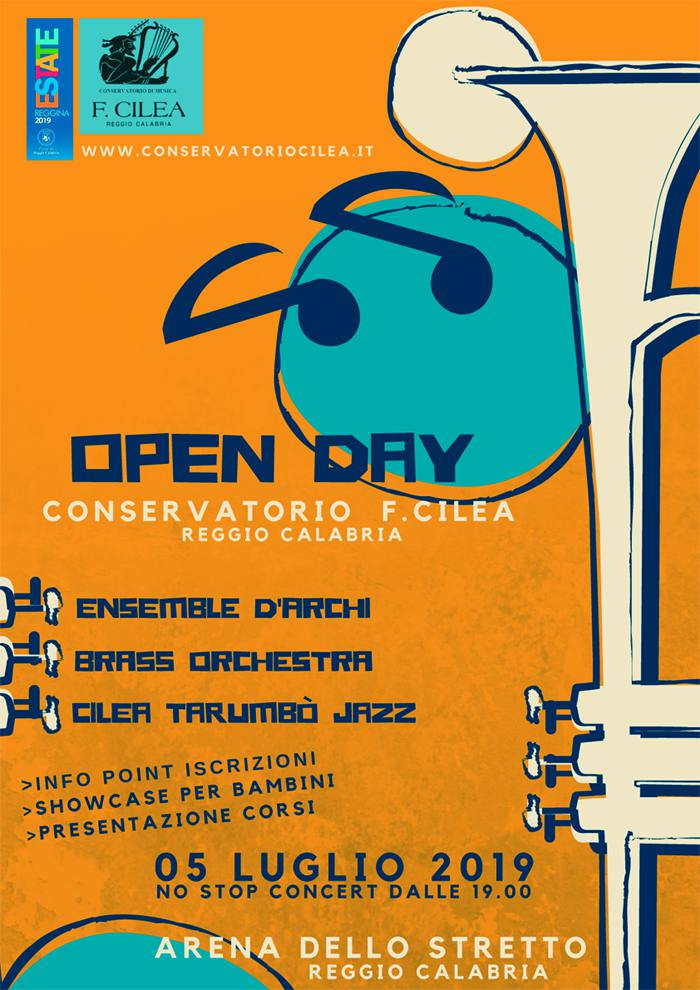 open day conservatorio cilea 2019 cmp